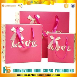 quality paper shopping bag with custom printing