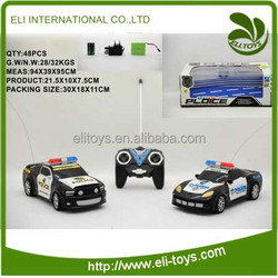 Lovely mini rc police car remote control toy wholesale for kid
