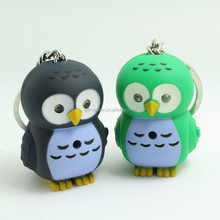 cheap owl keychain for 2015 promotion and souvenir