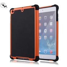 Hot Football Case For iPad mini 2 Soft Cover Case For iPad mini2 TPU+PU+Silicone Case