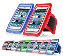 Phone armband for apple iphone 6, mobile phone Sport Armband Case with Key Holder and Headphone