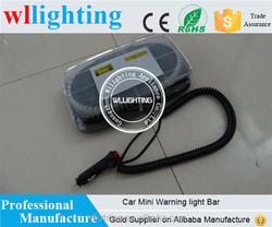 hot sale high quality Flashing Strobe Mini Lightbar/Led Emergency Vehicle Warning Light bars