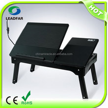 Deluxe style foldable adjustable laptop table