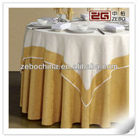High Quality Customized Size Restaurant Used Cheap Polyester Tablecloths