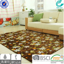 CCF brand plain pile 100% polyester waterproof carpets for home