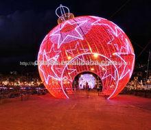 2015 Nuevas Escenas Temáticas Exterior de Estilo Especial Luz del Festival Decoración