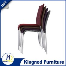 Hot sale stackable fabric cover Dining Chairs