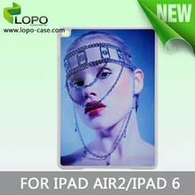 Be your own style sublimation hard PC cover case for Ipad Air 2