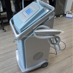 nd yag q switch laser green color tattoo removal machine for skin rejuvernation