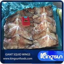 frozen giant squid wings
