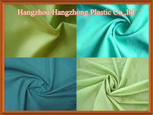 Polyester Material Oxford Lining Fabric 210D PU Coated