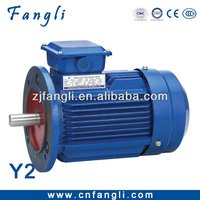Y2 three phase 110KW brushless small electric water pump motor for indurstrial