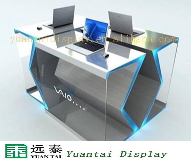 delicate computer table design for digital products