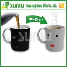 2015 Top Quality Hot Selling Photo Changing Mug With Hot Water