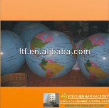 venta caliente inflable globos terráqueos