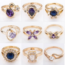 Factory directly price ladies women fancy promise rings