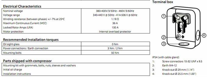 New Commercial Refrigerant Maneurop Compressor MTZ160HW4AVE