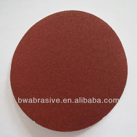 Round Velcro sandpaper disc angle grinder polishing disc for wood furniture
