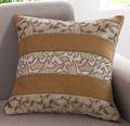 2015 nueva Jacquard sofá cojín de tela y silla de la cubierta del amortiguador