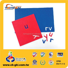 High Quality Standard EVA magnets for fridge refrigerator lowercase alphabet