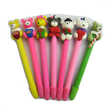 New Cute Polymer Clay Fimo Teddy Bear series Pen