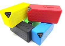 Mixed Color Mini Portable Bluetooth X3 Wireless Speaker TF Audio FM Radio Built-in Mic MP3