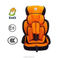 5 Point safe belt harness system Infant car seat group 1+2+3 Kids car seat factory