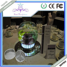 Pure Bright led base lights for vases of wedding/party/event