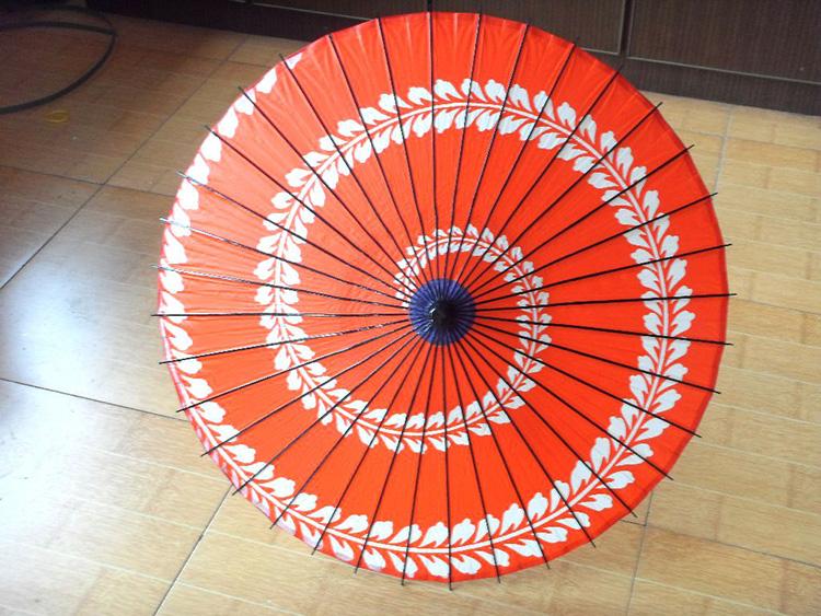 how to make a paper craft umbrella