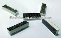 6 digit 7 segment led display (0.39 inch six digits led display)