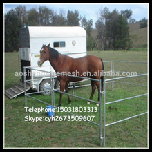 Customized PVC coated horse round pen for sale