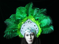 Carnival indian feather headdress for sale Party supplies