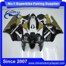 FFKKA016 Motorcycle ABS Fairing Kit For ZX12R ZX 12R 2002 2003 2004 Black And Gold 2