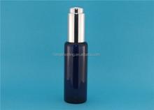 New design colored black glass dropper bottles wholesale, custom design glass bottle