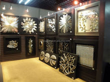 Customized many styles outdoor decorative metal wall art