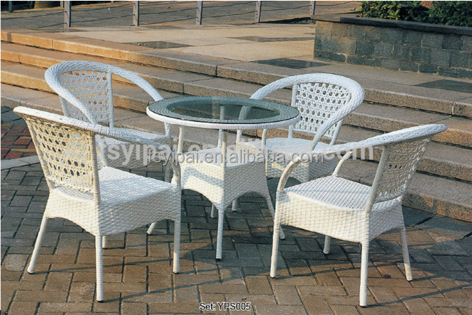 used rattan wrought iron patio furniture YPS005