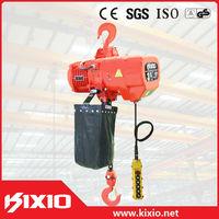 KIXIO good price mini 500kg hook type electric chain hoist