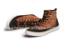 SW-CQ30 Fashion sneakers for men washed denim with good quality