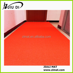 Trade Assurance customizable mats red color used in home entrance
