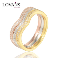 925 Silver China CZ Rings Engagement Couple Ring Set RIPY030