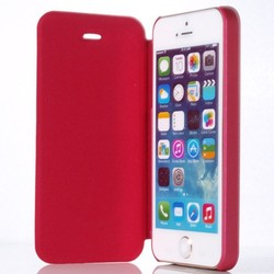 New flip high leather case girls love use cover for iphone 5 5s sell well