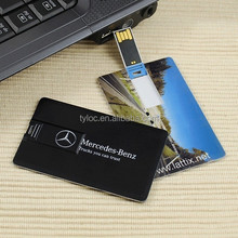 Custom Logo Bulk card usb flash drive,100% real capacity credit card usb flash stick