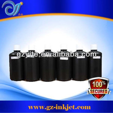 Original Japan uv ink Durable color and high quality for printing on fabric glass