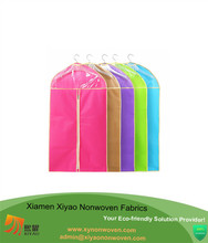Non woven garment bag recycled suit cover