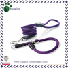 Leather Nylon Rope Slip Dog Collar and Leash
