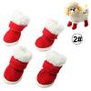 Christmas Gift Dog Pet Shoes Protective Dog Boots