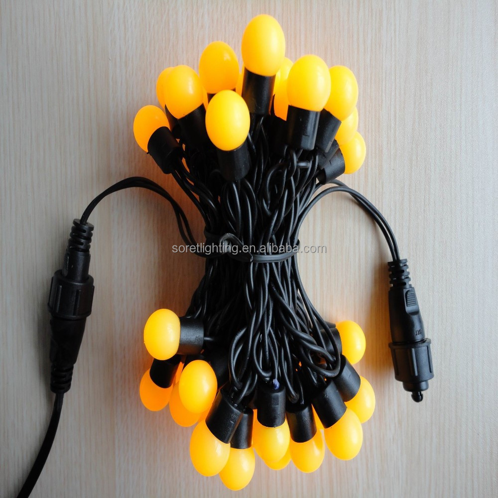 Christmas Holiday Lighting Led Plastic Round Ball String Light Globe Light - Buy Led Round Ball ...