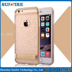 for iphone 6 case wholesale, for iphone case distributors, silicone case with stand