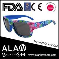 Italian Brand Kids Flexible Sports Wrapped Sunglasses OEM