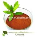 húmicos de ácido fúlvico en abono orgánico